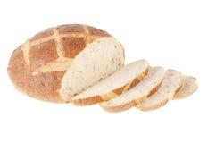 Rond brood royalty-vrije stock afbeeldingen
