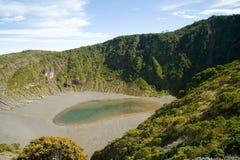 De vulkaan van Irazu royalty-vrije stock afbeeldingen