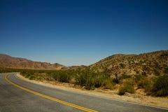 Rond de Kromming van de Woestijn Royalty-vrije Stock Afbeelding