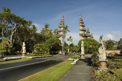 Rond de Reeks van Bali Indonesië Stock Afbeelding
