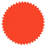 Rond etiket Royalty-vrije Stock Afbeelding