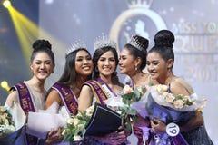 Rond final de Mlle Tourism Queen Thailand 2017 Photographie stock