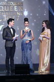 Rond final de Mlle Tourism Queen Thailand 2017 Photos libres de droits