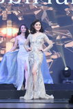 Rond final de Mlle Tourism Queen Thailand 2017 Image stock