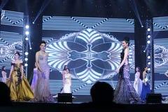 Rond final de Mlle Tourism Queen Thailand 2017 Photo stock