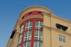 Rond flatgebouw Royalty-vrije Stock Afbeelding