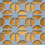 Rond gemaakt decoratief patroon - Binnenlandse muurdecoratie stock illustratie