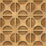 Rond gemaakt decoratief patroon - Binnenlandse muurdecoratie vector illustratie
