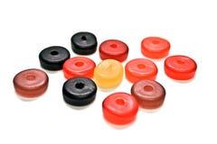 rond gommeux de sucreries Photos stock