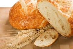 Rond Italiaans Brood Royalty-vrije Stock Foto's