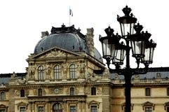 Rond Louvre Parijs Royalty-vrije Stock Afbeeldingen