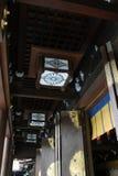 Rond Meiji Jingu, een zeer populair Shinto-heiligdom in het kapitaal stock fotografie