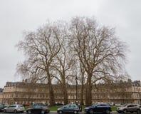 Rond point à Bath la ville en Angleterre image libre de droits