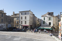 Rond-Point des Arènes, Arles, Γαλλία Στοκ Εικόνα