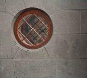Rond venster Royalty-vrije Stock Afbeeldingen