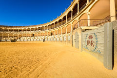 Ronda, αρένα ταυρομαχίας της Ισπανίας Στοκ φωτογραφίες με δικαίωμα ελεύθερης χρήσης