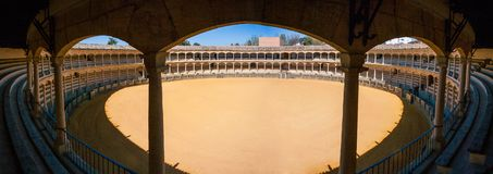 Ronda, επαρχία της Μάλαγας, Ανδαλουσία, Ισπανία - Plaza de Toros Στοκ Εικόνες