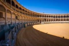 Ronda, επαρχία της Μάλαγας, Ανδαλουσία, Ισπανία - Plaza de Toros Στοκ Εικόνα