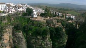 Ronda в Андалусии, Испании акции видеоматериалы