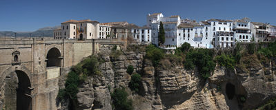 Ronda in Andalusia region , Spain Royalty Free Stock Photo