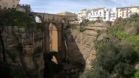 Ronda, Andaluc3ia, España almacen de metraje de vídeo