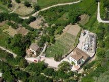 RONDA, ANDALUCIA/SPAIN - 8 ΜΑΐΟΥ: Άποψη της επαρχίας από Ro στοκ εικόνες