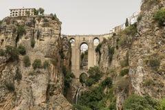 Ronda Andalucia, Spain: the bridge Royalty Free Stock Photos