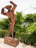 RONDA ANDALUCIA/SPAIN - MAJ 8: Monument av en banderillero i f Royaltyfri Fotografi