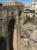 RONDA, ANDALUCIA/SPAIN - MAY 8 : View of the New Bridge in Ronda Stock Photos
