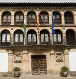 Ronda Andalucia: town hall Stock Photo