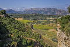 Ronda in andalusia Stock Image