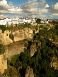 Ronda, Andalusia, Pueblos blancos. Ronda, Andalusia, Spain. Tipic white house pueblos blancos build on a cliff Royalty Free Stock Photos