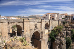 Ronda, Andalusia Spain. Famous bridge Puente Nuevo in Ronda, Andalusia Spain Stock Photography