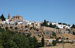 Ronda, Andalusia Spain Royalty Free Stock Photos