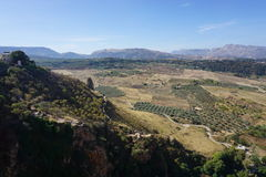 Ronda. In Andalusia from Spain Stock Photography