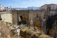 Ronda. In Andalusia from Spain Royalty Free Stock Photo
