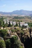 Ronda. In Andalusia from Spain Royalty Free Stock Photography