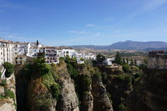 Ronda. In Andalusia from Spain Stock Image