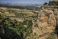 Ronda in andalusia Royalty Free Stock Photos