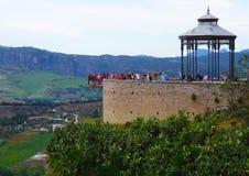Ronda Balcony, Andalusien, Spanien Lizenzfreie Stockbilder