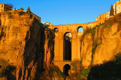 Ronda Bridge Royaltyfri Foto