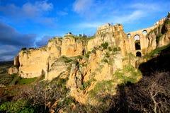 Ronda bridge, Andalusia, Spain royalty free stock photography