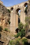 Ronda bridge, Andalusia, Spain. Stock Photo