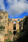 Ronda. The bridge Puente Nuevo royalty free stock images