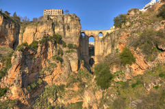 Ronda bridge - Spain Royalty Free Stock Photos