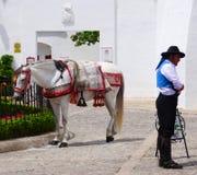 Ronda bullfight traditions Stock Images