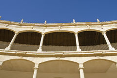 Ronda bullring - plaza de toros Royalty Free Stock Image
