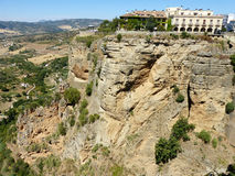 Ronda: canyon El Tajo 5 Stock Photos