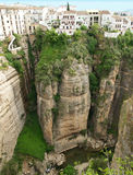 Ronda canyon, Spain Andalousia Royalty Free Stock Photography