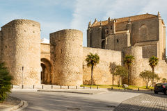 Ronda city gates Royalty Free Stock Image
